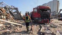Un equipo de bomberos españoles viaja a Beirut para buscar supervivientes