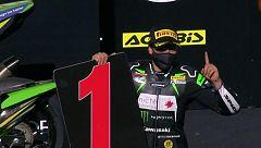 Ana Carrasco gana en Portimao una carrera interrumpida por bandera roja
