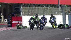 Motociclismo - Campeonato del Mundo Superbike 2020. Prueba Portugal: World Supersport 300 1ª carrera, desde Portimao (Portugal)