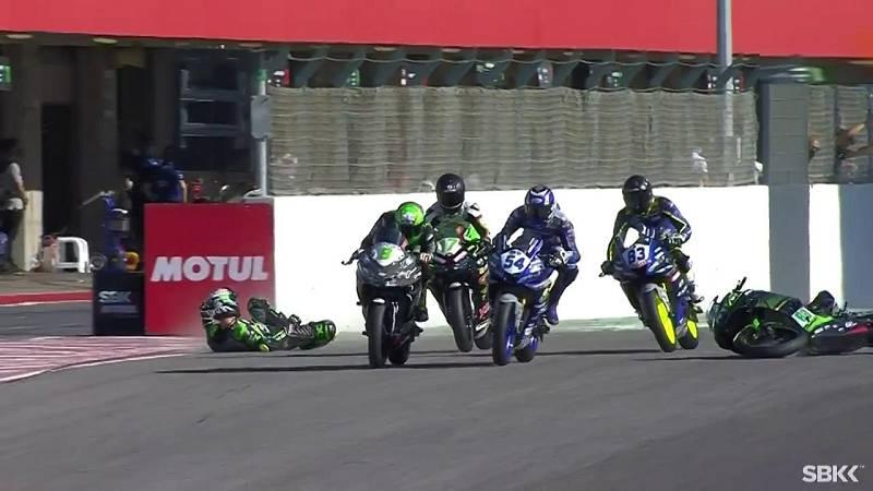 Motociclismo - Campeonato del Mundo Superbike 2020. Prueba Portugal: World Supersport 300 1ª carrera, desde Portimao (Portugal) - ver ahora