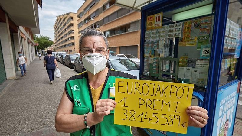 Girona amanece con un nuevo millonario gracias al Eurojackpot de la ONCE, que repartió 38 millones de euros