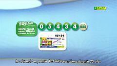 Sorteo ONCE - 08/08/20