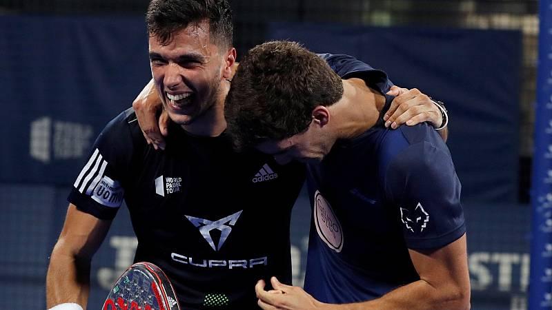 Juan Lebrón y Alejandro Galán consiguen la victoria en el Open de Madrid de pádel