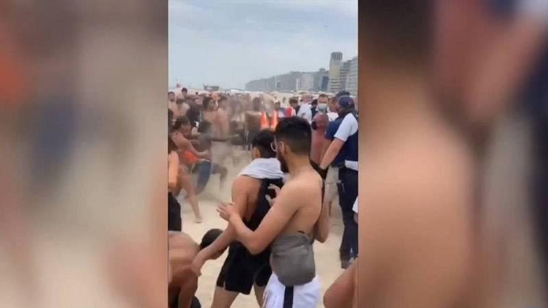 Batalla campal en una playa de Bélgica por unos jóvenes que no guardaban las medidas contra el coronavirus