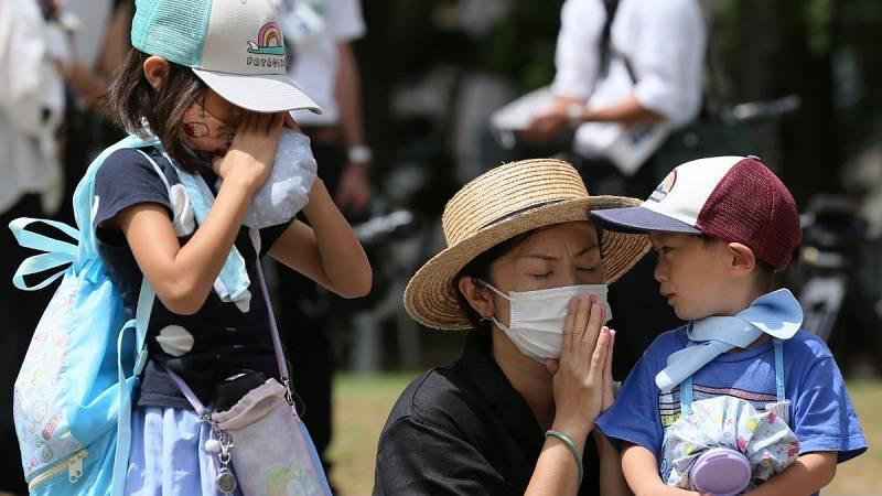 Nagasaki pide abolir las armas nucleares en el 75 aniversario del bombardeo atómico