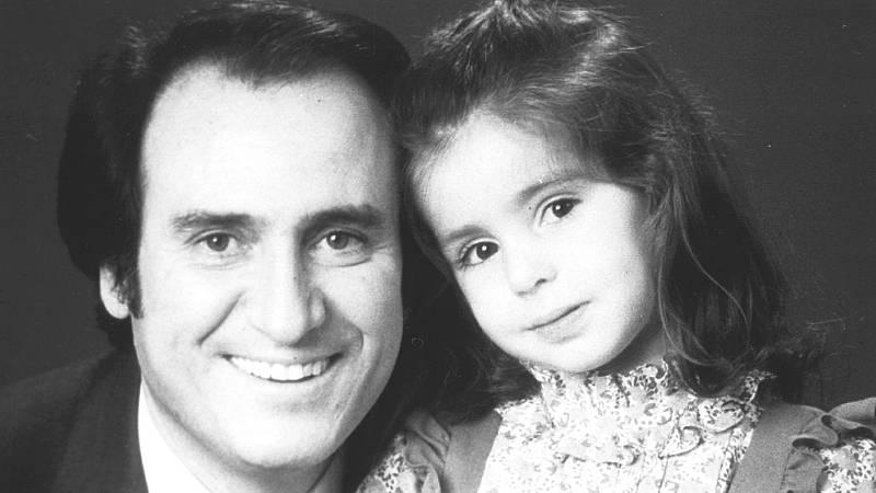 Manolo Escobar y su hija Vanessa, una adopción con polémica