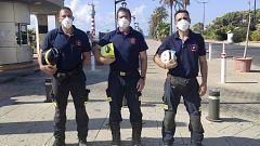 Regresan a España los bomberos que han colaborado en el rescate de Beirut