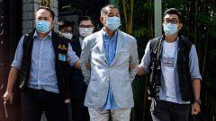 China detiene en Hong Kong a un magnate de la comunicación crítico con Pekín