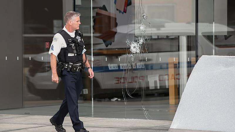 Cientos de saqueos en Chicago tras un tiroteo con la Policía