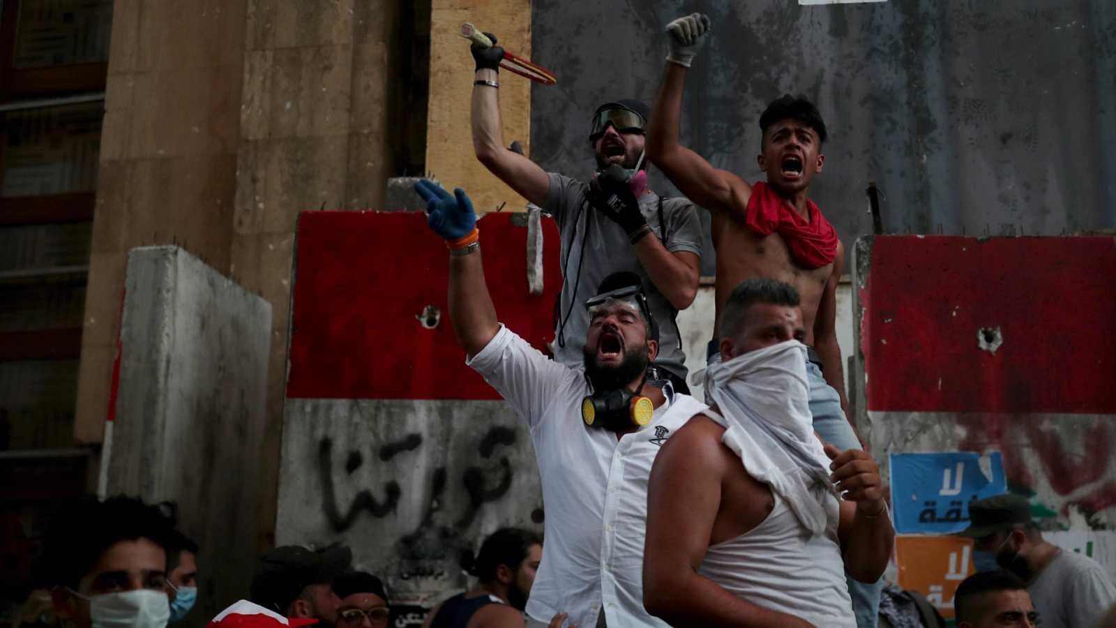 Dimite el Gobierno de Líbano tras la explosión en Beirut