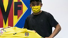 "Kubo, ""muy contento de llegar a Villarreal"""