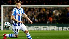 El Madrid recupera a Odegaard, que no jugará más en la Real