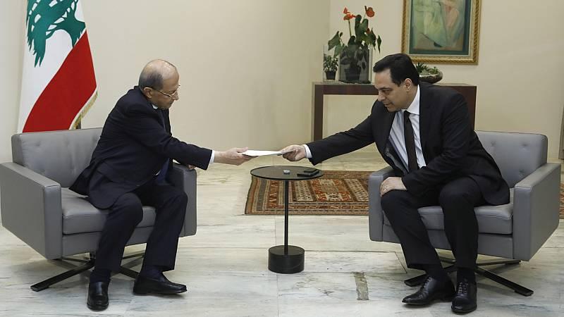 La dimisión del Gobierno agrava la crisis en Líbano