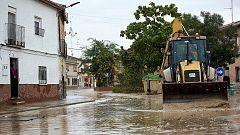 Calles anegadas, vías cortadas y al menos un herido por las tormentas en el centro y sur del país