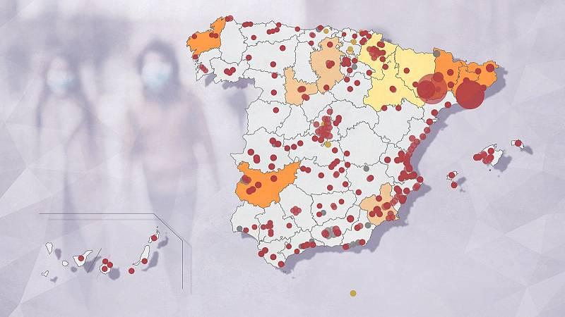 Crece la presión en los hospitales por el incremento de contagios
