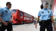 El Atlético trabaja con muchas medidas de seguridad en Lisboa