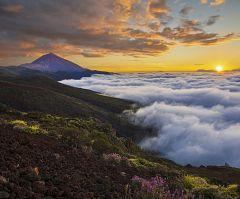 En Canarias intervalos nubosos en el norte de las islas y poco nuboso en el resto