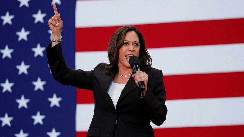 Kamala Harris se convierte en la primera afroamericana en ser candidata a la vicepresidencia de Estados Unidos