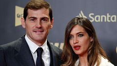 Iker Casillas y Sara Carbonero regresan a España