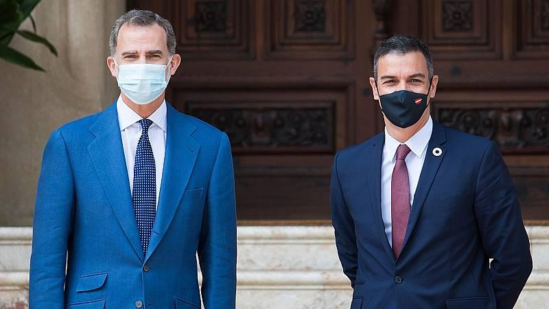 Sánchez insiste en que tiene que ser la Casa Real o el propio Juan Carlos I los que comuniquen su paradero