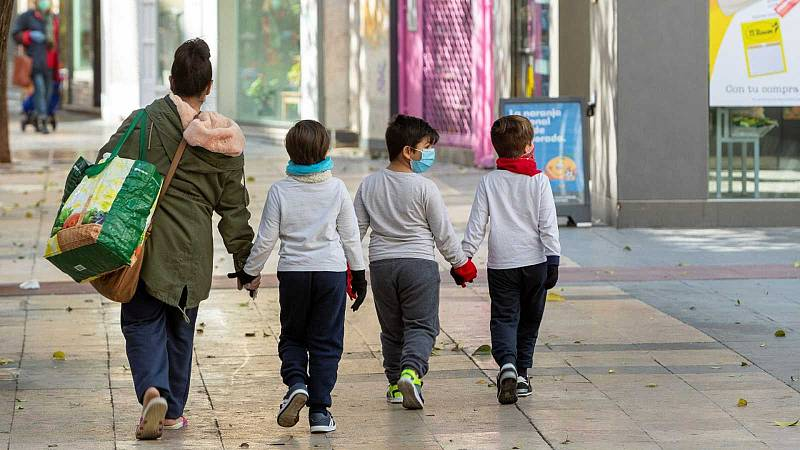 Los contagios en niños están aumentando y preocupan los que tienen patologías previas