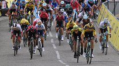 Van Aert gana la primera etapa del Dauphiné