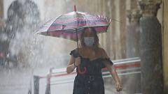 Chubascos y tormentas en el norte de Galicia y Cantábrico occidental