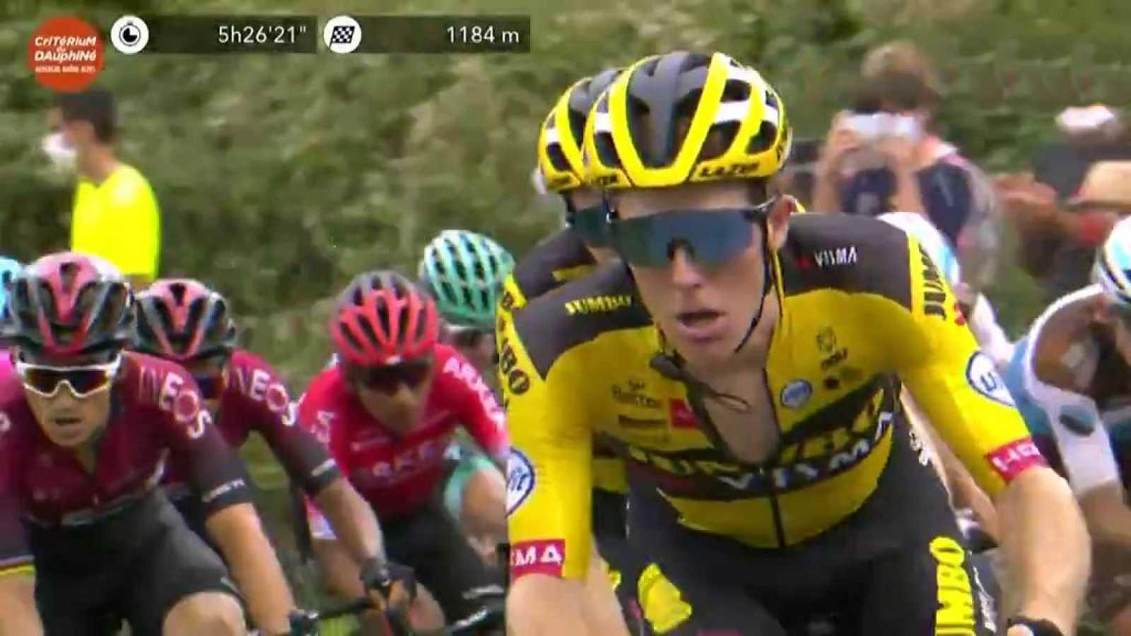 Ciclismo - Criterium du Dauphiné. 1ª etapa: Clermont-Ferrand - Saint Christo en Jarez - ver ahora