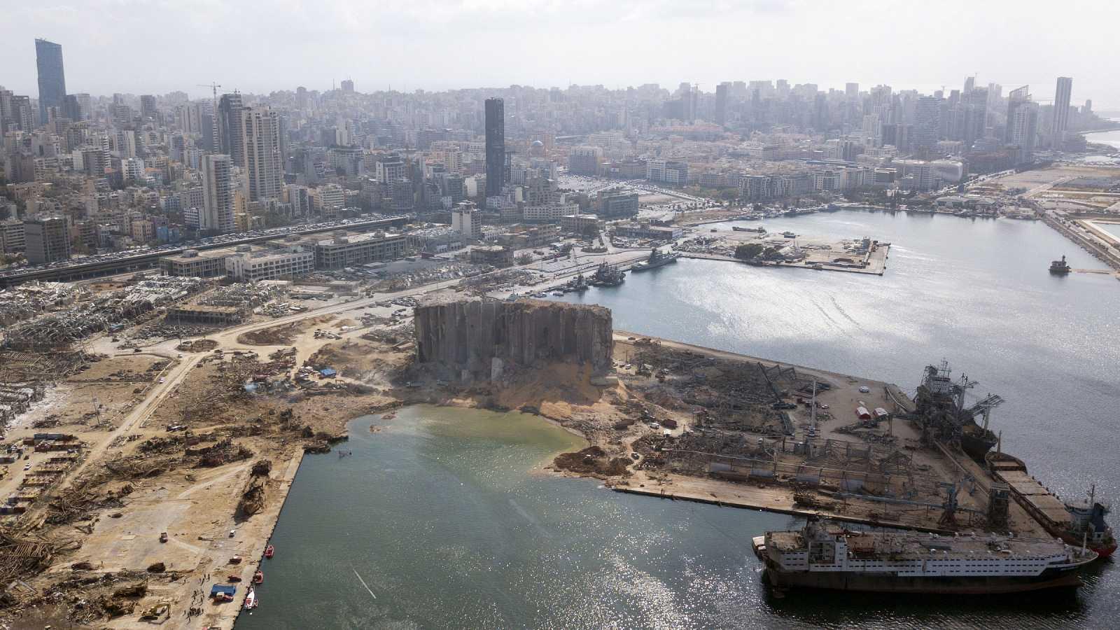 El presidente de Líbano supo de la existencia del nitrato en el puerto dos semanas antes de la explosión