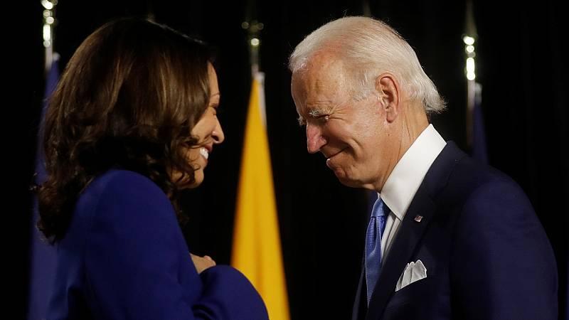 Biden y Harris, un frente común contra Trump