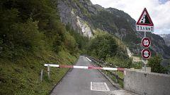 Mueren tres turistas navarros y uno vasco continúa desaparecido en un accidente de barranquismo en Suiza