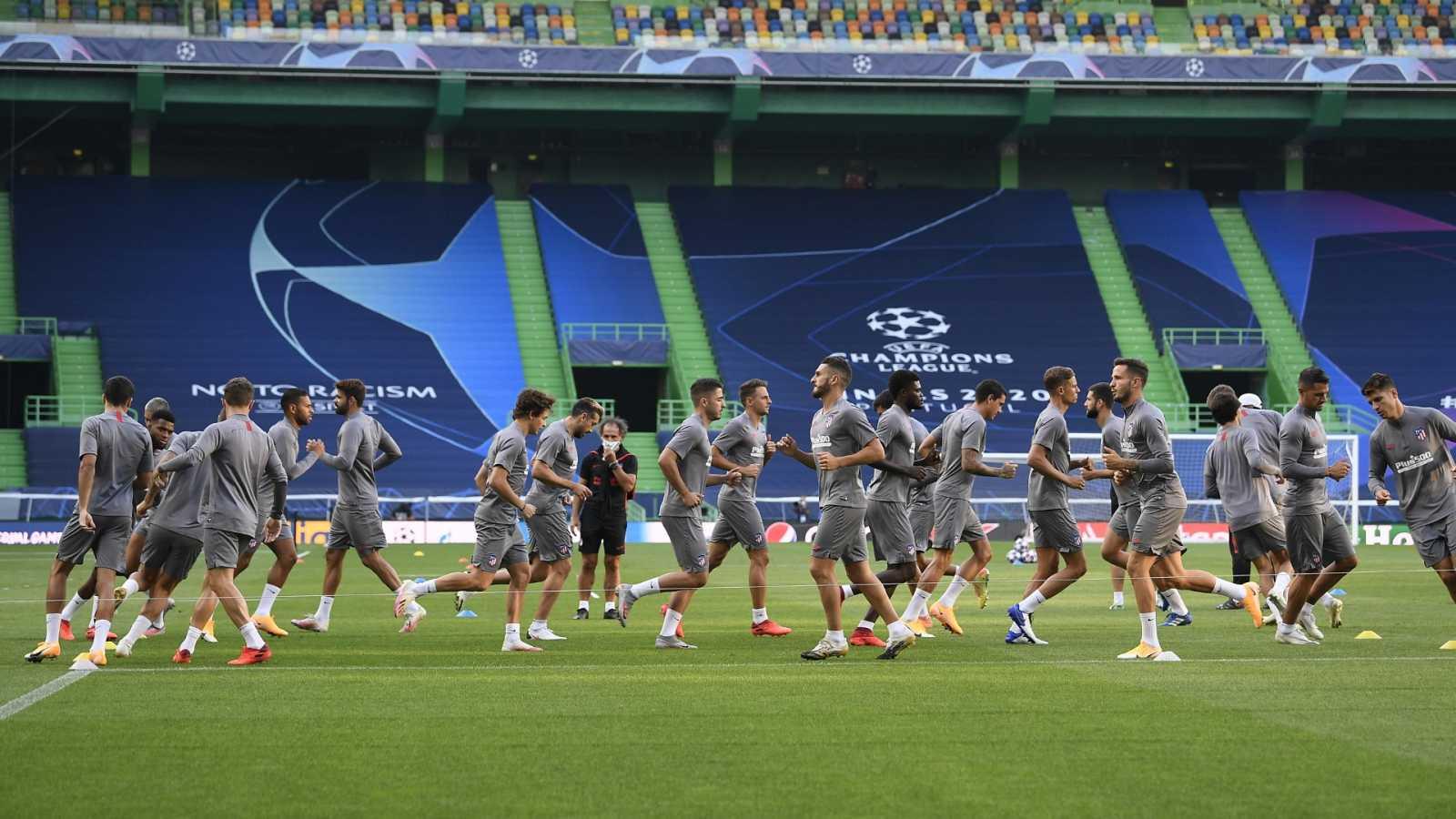 El Atleti, centrado en la eliminatoria ante el Leipzig tras dar negativo toda la plantilla en los test de la UEFA