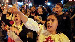 Las mujeres de Bielorrusia encabezan las protestas contra Lukashenko