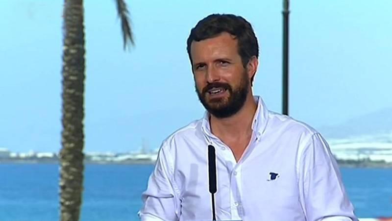 Casado pide a Sánchez que cese a Iglesias como vicepresidente del Gobierno por la imputación de Podemos