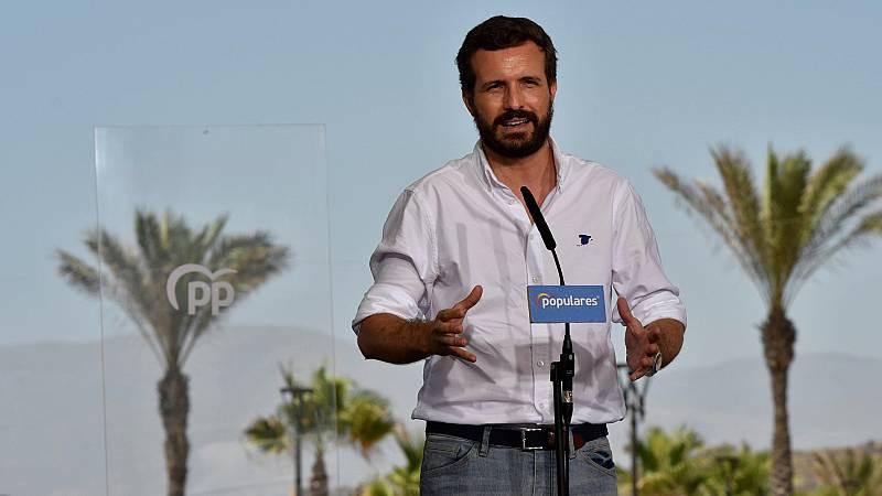 """Casado: """"La segunda ola pilla a Sánchez de vacaciones"""""""
