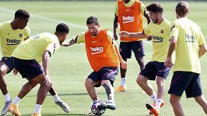 El Barça juega su