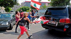 La explosión relanza las protestas en Líbano