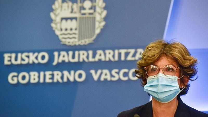 """La consejera de Salud vasca alerta que """"estamos ante un posible tsunami"""" por el aumento de contagios de coronavirus"""