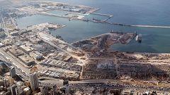 Un equipo de TVE recorre la 'zona cero' de la explosión de Beirut