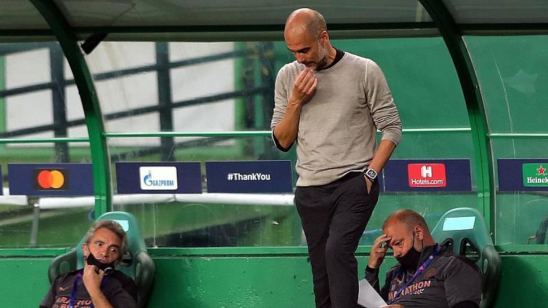 El proyecto de Guardiola se queda fuera de la Champions otro año más