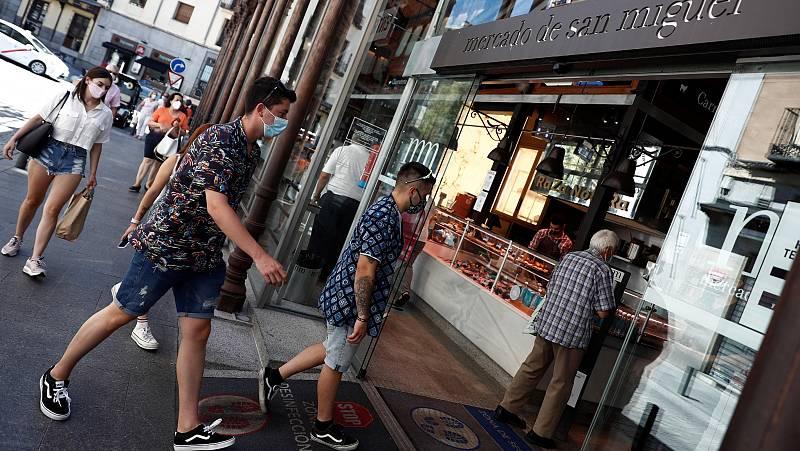 La ausencia de turistas lastra la recuperación del comercio en el centro de las ciudades