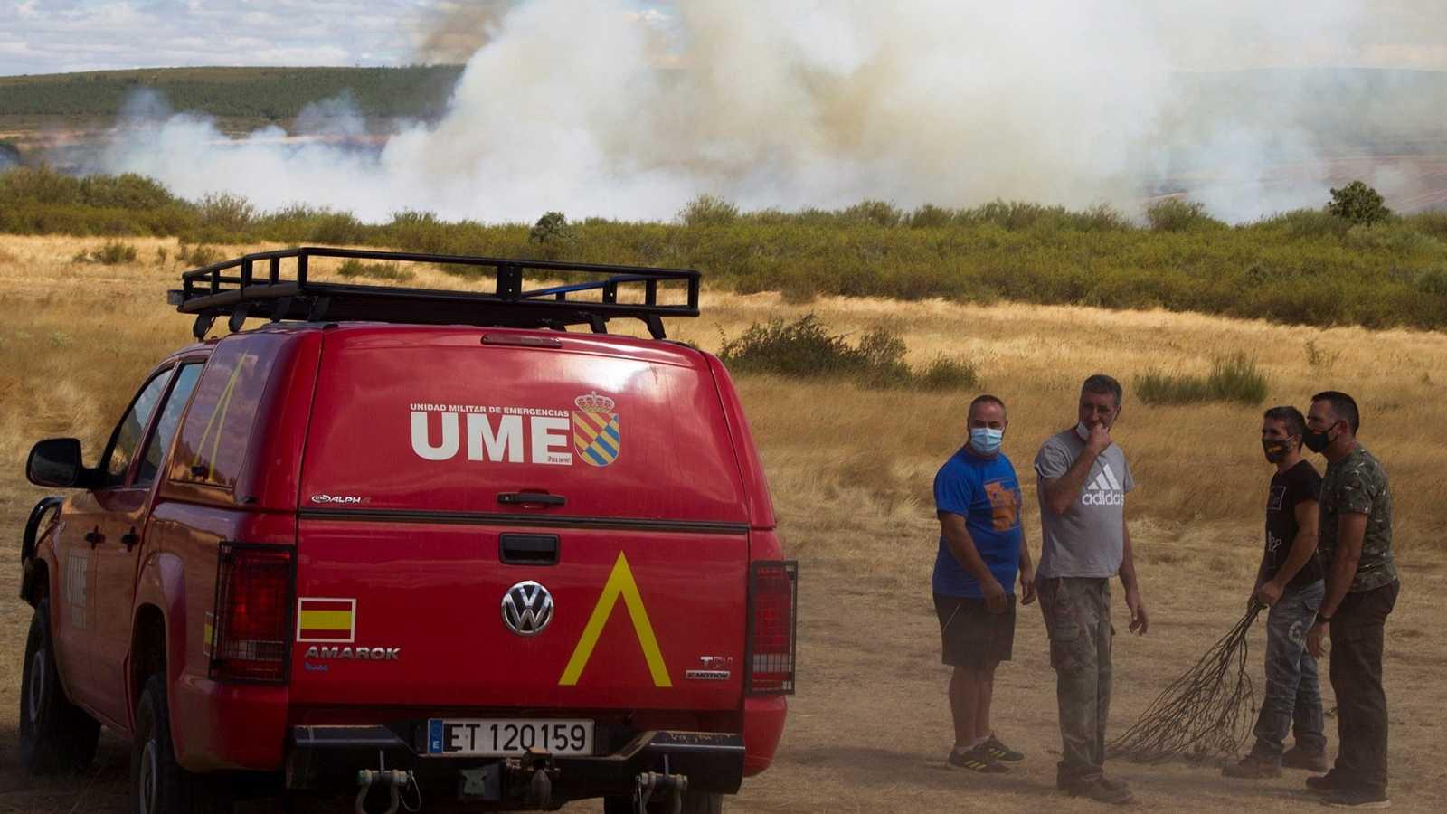 Arden 2.000 hectáreas en la provincia de Zamora