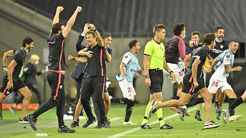 Celebración sevillista por todo lo alto antes de disputar su sexta final europea