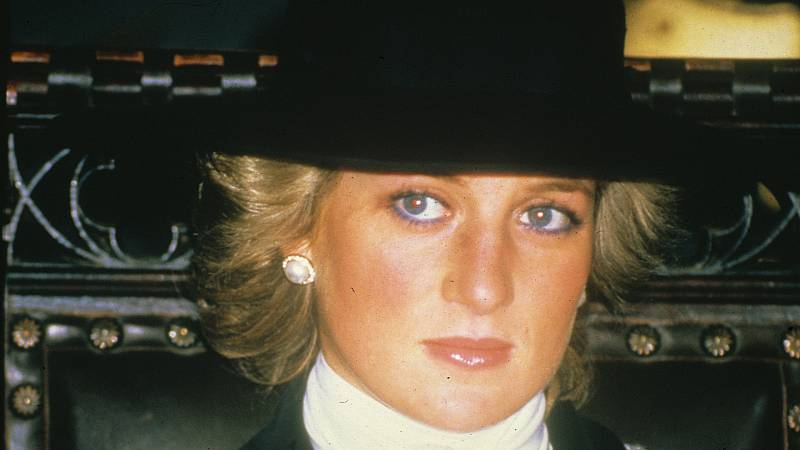 Lady Di, una mujer infeliz con una mirada triste