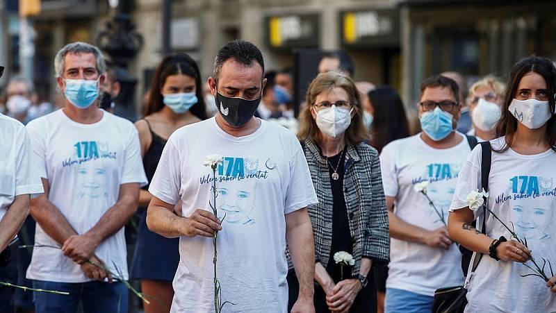 Barcelona recuerda a las víctimas de los atentados del 17A, tres años después de los ataques