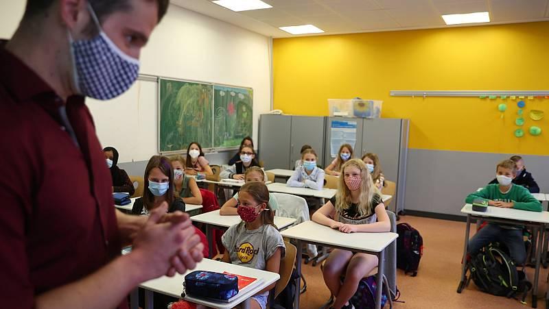 Francia, Italia y Reino Unido: distintas maneras de afrontar la vuelta al colegio durante la pandemia