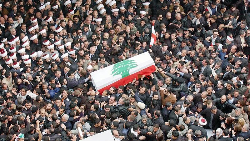 Un tribunal internacional declara culpable a un miembro de Hizbulá por el asesinato del primer ministro libanés Hariri y absuelve a otros tres