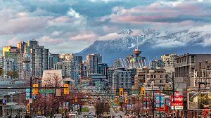 Vancouver, oeste de Canadá, más allá de la frontera