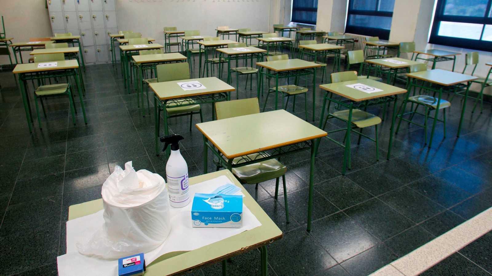 Varios sindicatos convocan una huelga de profesorado de Madrid en el inicio  del curso escolar