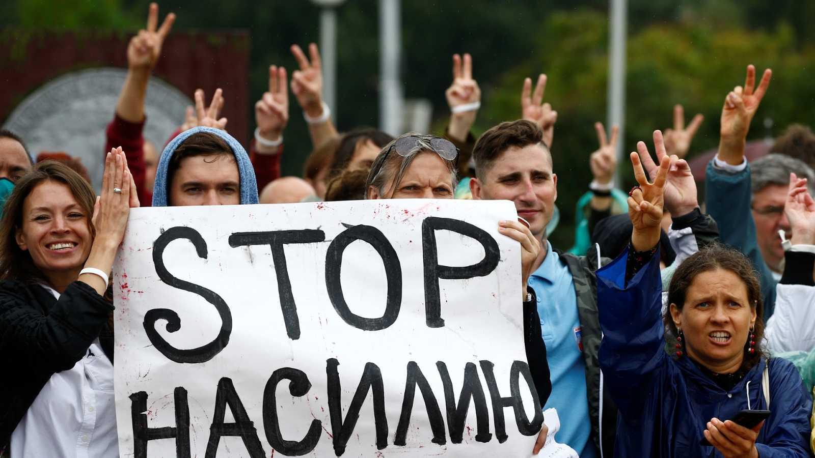 La UE no reconoce las elecciones en Bielorrusia
